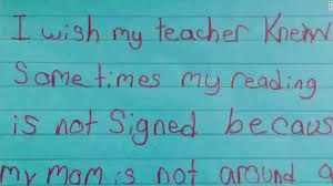 i wish iwish iwishmyteacherknew shares students heartbreak hopes cnn