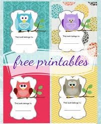 6 Free Printable School Book Covers