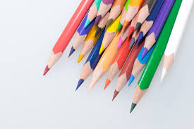 colorful office accessories. School, Crayons, Draw, Leave, Pointed, Colored Pencils, Office Supplies, Ball Pen, Graphic Design, Colour Wooden Pegs, Writing Accessories, Colorful Accessories