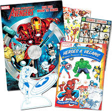 The avengers took the world by storm! Marvel Avengers Coloring Book And Stickers Captain America Thor The Hulk Iron Man And More Paper Craft Amazon Canada