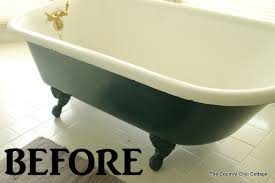 painting a claw foot tub ever wondered how to paint your claw foot tub