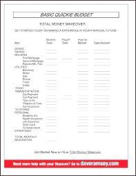 Simple Budget Template Printable Stingerworld Co