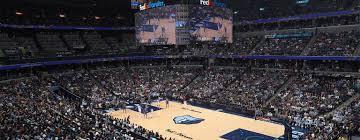 Grizzlies Vs Mavericks Fedexforum Home Of The Memphis