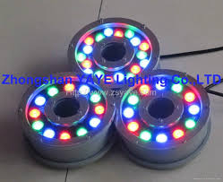 Floating Pool Fountain With Lights 1w 36w Led Swimming Pool Light Rgb Led Fountain Light Lamp