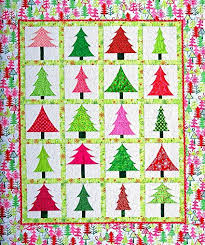 Christmas Quilt Patterns Unique Amazon Happy Stash Quilts Spring Into Christmas Quilt Pattern