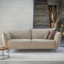 jess fabric leather 2 5 seater