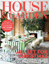 House \u0026 Garden December 2016  Kate Arbuthnott Interior Design