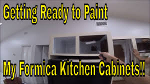 Formica Kitchen Cabinet Doors Getting Ready To Paint My Formica Kitchen Cabinets Remove Cabinet