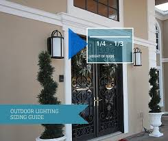 awesome front door outside lights progress lighting size matters how to determine fixture to