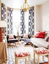 Bold Patterned Curtains