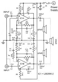 lm2896 car audio amplifier circuit car audio amplifier circuit schematic