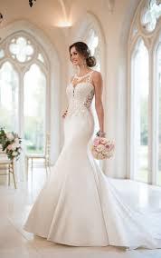 mermaid wedding dresses beaded mermaid wedding gown stella york