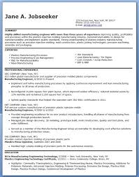 Manufacturing Engineer Resume Examples (Experienced)
