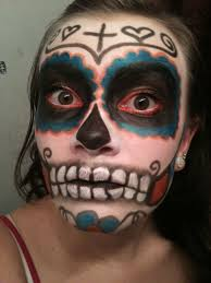 what i dont want to look like sugar skull makeup
