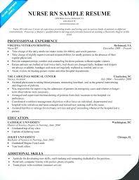 Curriculum Vitae For Nurses Beauteous Sample Curriculum Vitae Registered Nurse Resume Of Instance