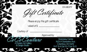 gift certificate templates gift certificate templates dimension n tk