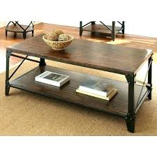 rustic wood and metal coffee table reclaimed wood and metal coffee table reclaimed wood and wrought