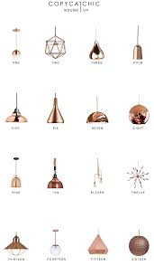 copper lighting fixture. Pendant Lighting Copper. Our Fave Copper Picks By Copy Cat Chic Luxe Living For Fixture