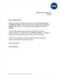 Resignation From The Company Format Of Resignation Letter For Office Example From A