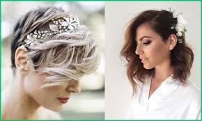 Coiffure Mariee Sur Carre Court 168709 Coiffure Mariage