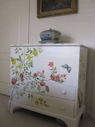 tropical painted furniture. hand painted furniture iu0027m not artistic enough to draw something like this tropical