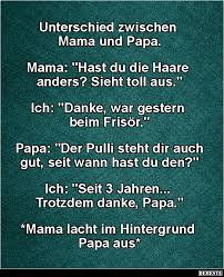 Unterschied Zwischen Mama Und Papa Lustige Bilder Sprüche