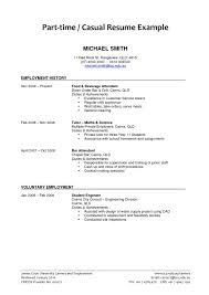 Student Sample Resumes Sample Resume For Part Time Job College Student Save Resume For Part 22