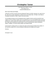 Free Cover Letter Example Free Cover Letter Examples For Every Job