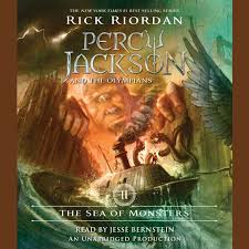 the sea of monsters percy jackson and the olympians book 2 audiobook by