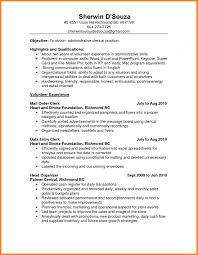 Resume Examples Office Clerk