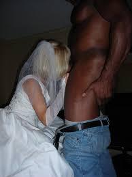 White wife black dick wedding night