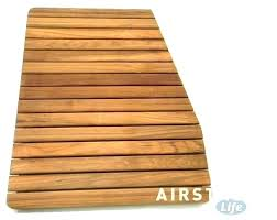 shower floor mats teak mat large shower floor mats
