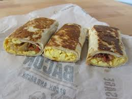 review taco bell grilled breakfast burritos