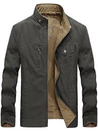 reversible <b>double sided</b> wearable cotton <b>men</b> outdoor <b>jacket</b> at ...
