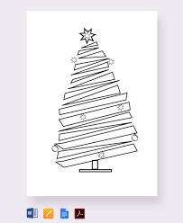 Free Christmas Tree Template 32 Christmas Tree Templates Free Printable Psd Eps Png Pdf