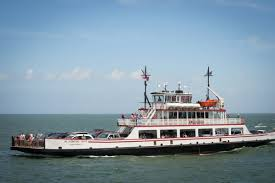 Ferry Goes The Long Way To Cross Hatteras Inlet The