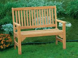 image of outdoor wooden benches plans