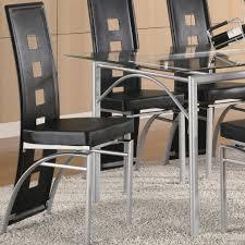 los feliz black metal dining chair dining chairs black metal dining set