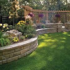 Concrete Retaining Walls Design Pictures Remodel Decor And Ideas Awesome Backyard Retaining Wall Designs Plans