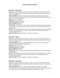 Career Objective Statements For Resume Cover Letter Example