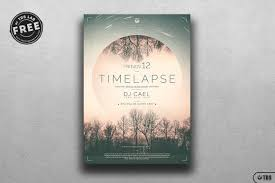 Time Lapse Free Psd Flyer Templates Freebies Layouts