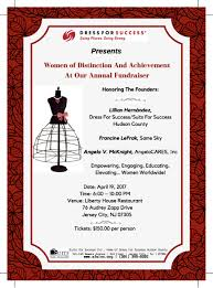 dress for success presents women of distinction and achievement dress for success presents women of distinction and achievement at our annual fundraiser