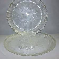 clear glass dinner plate set clear glass dinner plates crocus set of 2 dinnerware whole clear clear glass dinner plate set