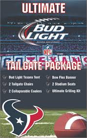 win this ultimate tailgate package from bud light the blonde side