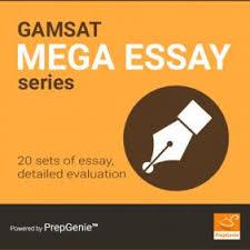 gamsat mini essay series prepgenie gamsat gamsat mega essay series