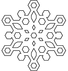 Snowflake Mandala Coloring Pages Boston Cross