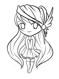 Anime Coloring Pages Chibi Pin By Julia On Colorings Pinterest Color