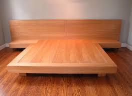 custom king size platform bed by ezequiel rotstain design