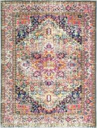 bright multi colored area rugs color s rug home ideas style