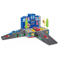 <b>Dave Toy</b> Полицейский участок с 1 машинкой - игровой <b>набор</b> ...